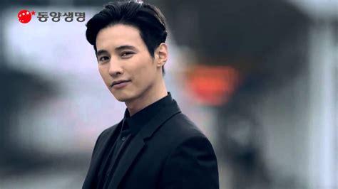 film terbaik won bin won bin for tongyang life insurance guardian angel cf