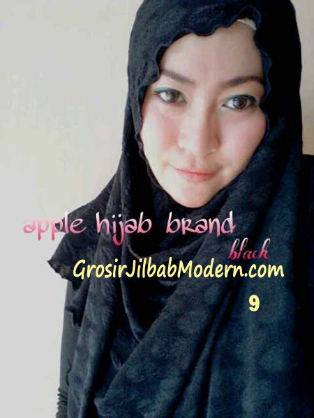 Megan Syari by Pashmina Instan Exclusive Megan No 9 Hitam Grosir Jilbab