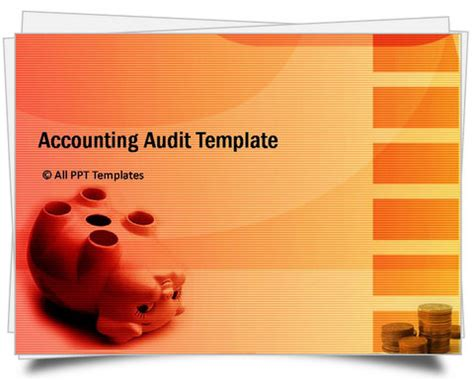 accounting powerpoint templates powerpoint accounting audit template