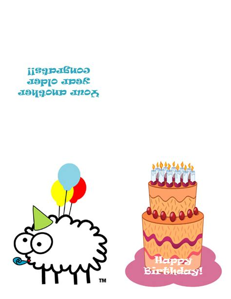 Print Out Birthday Card Birthday Cards To Print Free Gangcraft Net