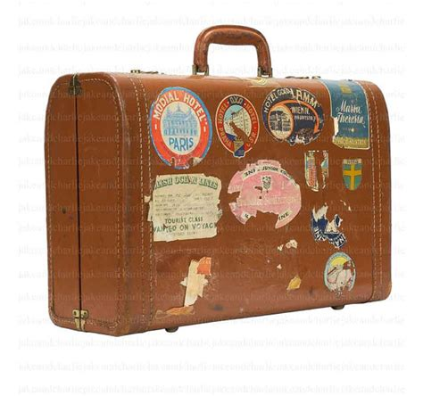 Vintage Suitcase Clipart items similar to vintage suitcase clip with digital travel stickers clip for paper