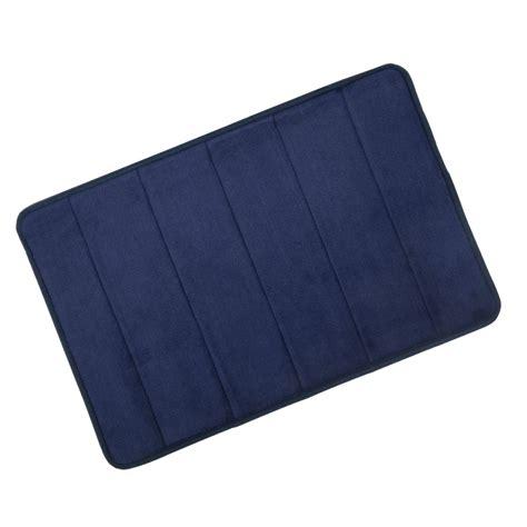 1 Memory Foam Mat - microfibre memory foam bathroom shower bath mat with non