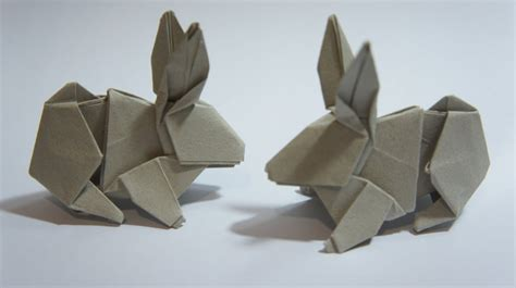 How To Make Rabbit From Paper - origami rabbit hsi min