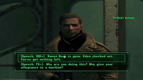 fallout 3 best fallout 3 best ending