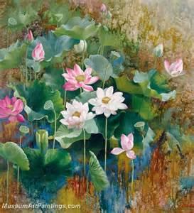 Lotus Paintings Lotus Flower Paintings 003