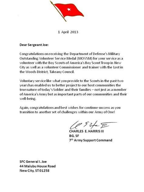 movsm template officer letter of recommendation sle cover