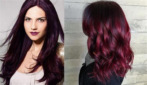 Hair color 2017: Black cherry hair ? COOL HAIRCUTS