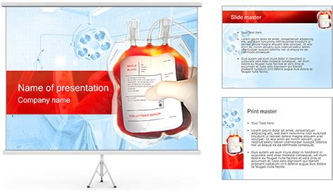 blood ppt templates free donor blood powerpoint template backgrounds id