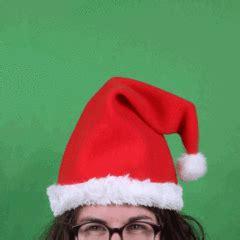 dancing christmas tree hat thumbs up usa magic