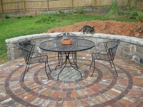 Brick Designs For Patios Effective Lovely Brick Patio Designs On Circular