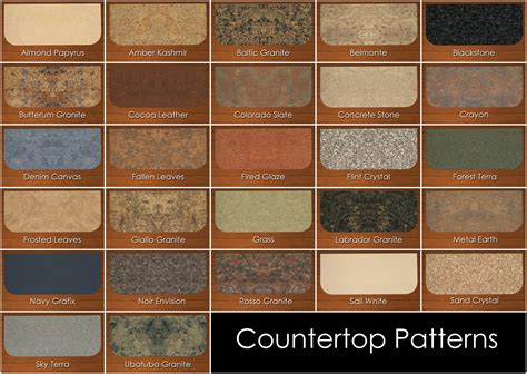 Formica Countertop Colors by Mod The Sims Epikouros Counter Recolors
