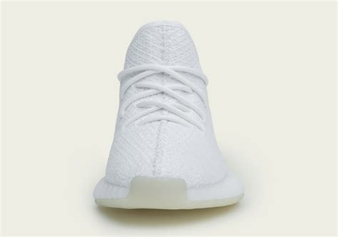 Adidas Yeezy 350 Boost V2 White Kick yeezy boost 350 v2 white release date info sneakernews