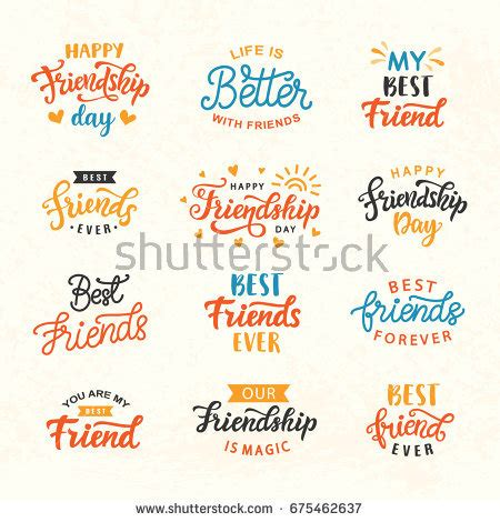 friendship day card template friendship stock images royalty free images vectors