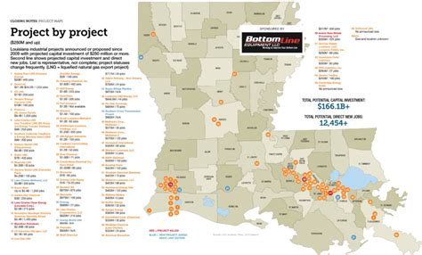 louisiana industry map maps of the largest industrial projects driving growth in