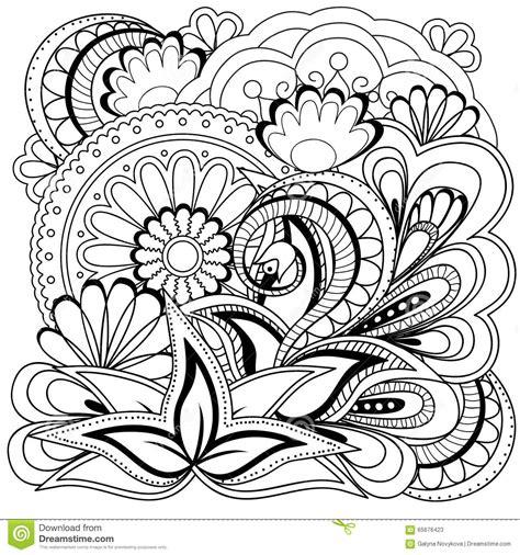 imagenes flor mandala flores y mandalas del garabato ilustraci 243 n del vector