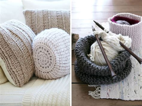 knitting home decor indecora