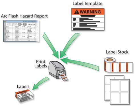 Arc Flash Report Template Arc Flash Hazard Labels