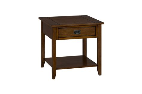 mission accent table mission oak end table 1032 3 decor south