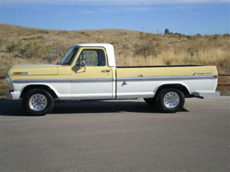 1970 Ford F100 For Sale by 1970 Ford F100 Ranger Xlt For Sale Photos Technical