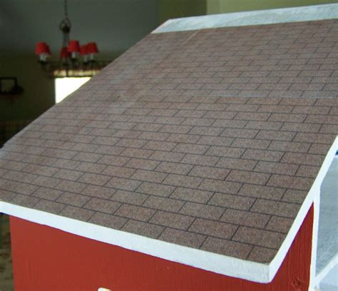 dollhouse roof shingles roofing with printables five dollar dollhouse