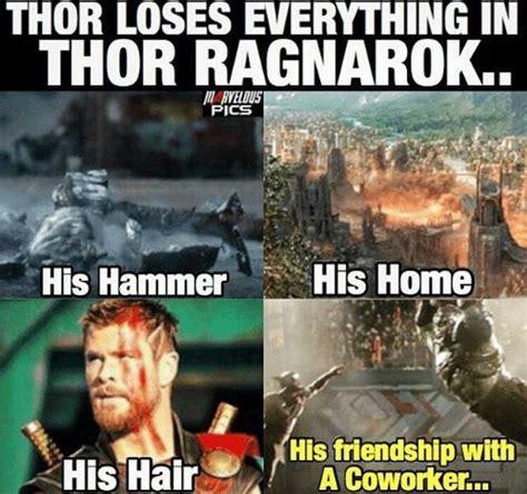 Funny Thor Memes - thor ragnarok marvelous pinterest thor marvel and
