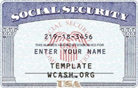 free social security card template psd template ssn social security card its template social
