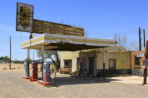 route 66 gas station abandoned gas station route 66 route 66 photos