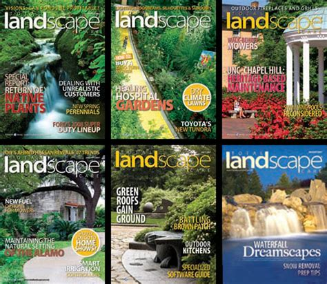 free total landscape care magazine the green