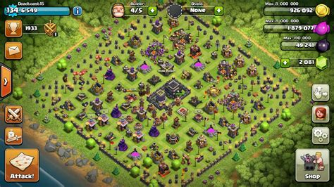 th9 layout december update need good defensive th9 base layout after december 2015 update