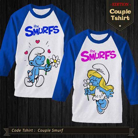 Kaos Smurfs 10 by Kaos Smurf Kaos Polos Cikunir