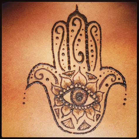 henna hamsa tattoo of fatima henna tattoos hennas
