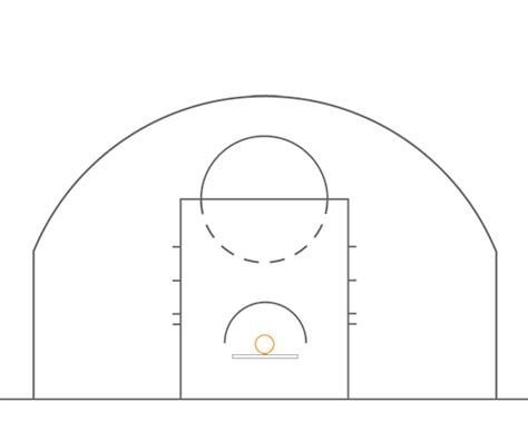 basketball key template half court basketball template 28 images coach