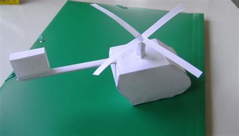 Make A Paper Helicopter - how to build a paper helicopter