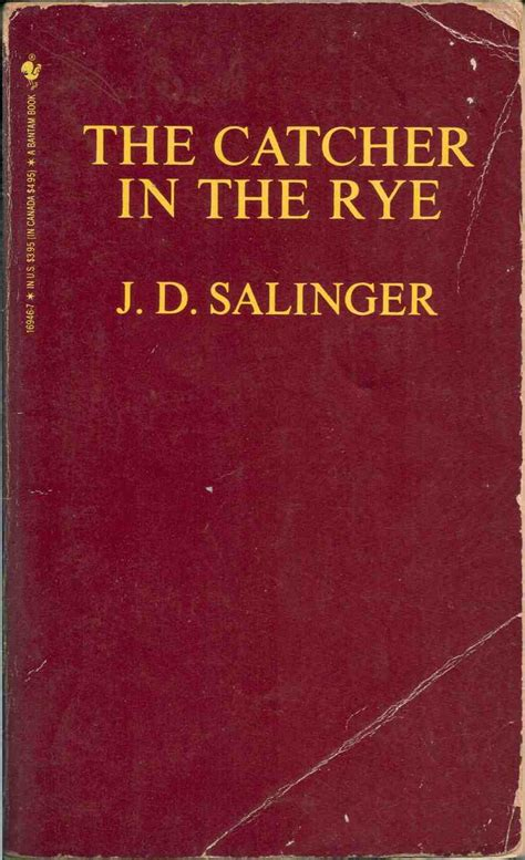 the catcher in the the catcher in the rye by j d salinger 365 days of the book