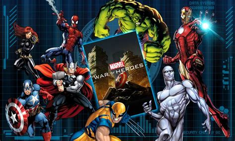 marvel heroes apk marvel war of heroes apk v1 5 14 apkmodx