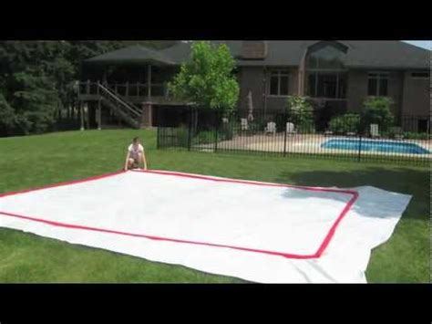 backyard rink kit how to build a backyard rink by rinkmaster canada youtube