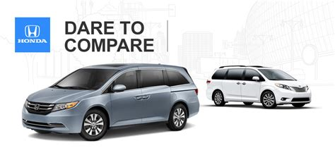 Toyota Vs Honda Odyssey 2014 Toyota Vs 2014 Honda Odyssey Which Is Better