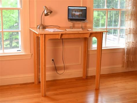 press fit standing desk affordable portable made in usa