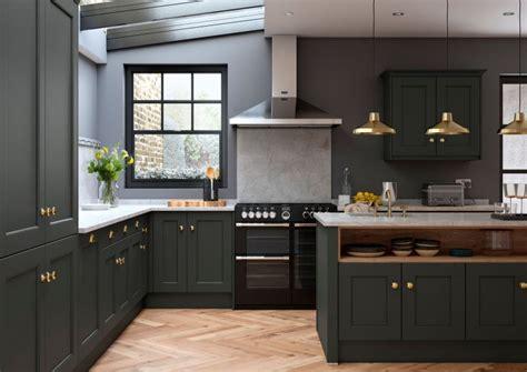 allestree beaded bespoke painted kitchen  slate grey