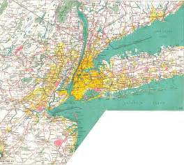 Map Of New York And New Jersey by Maps And History At Nycroads