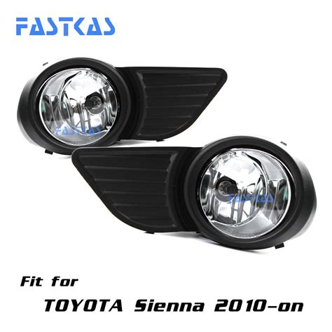 toyota sienna fog lights 12v car fog light assembly for toyota sienna 2010 2016