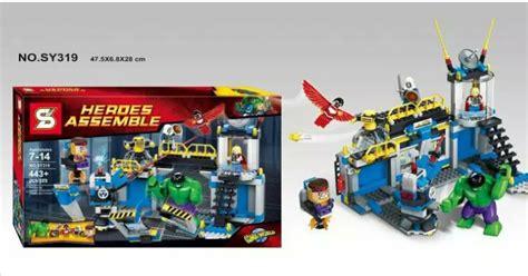 Lego Murah Block Space Wars Protagonist mainan lego lego kw murah banyak macam jakarta lego kw modok lab sheng yuan lego sy 319