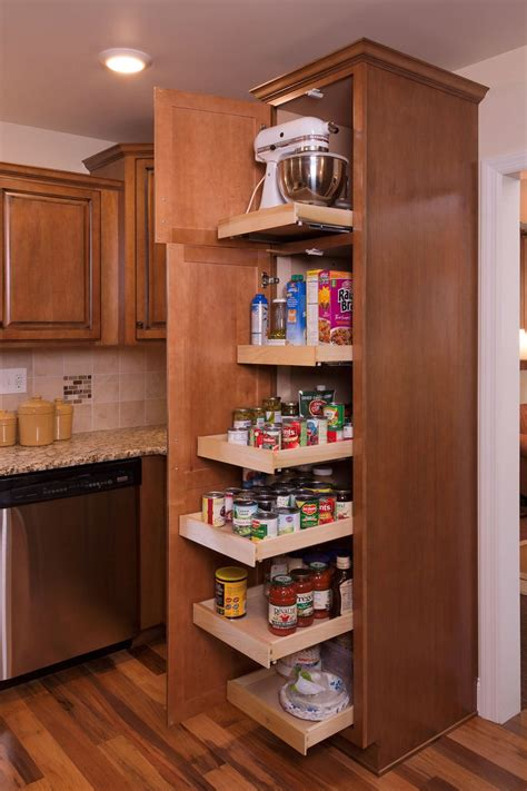 Roll Out Pantry Shelves by Extension Roll Out Pantry Shelves Pantry Ideas