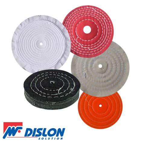 Roda Teflon roda de tecido para polimento dislon solution