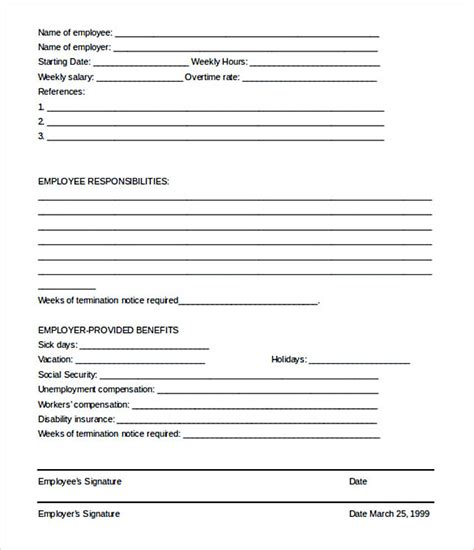 employee termination letters 17 termination letter template
