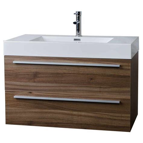 Bathroom Vanities Wall Mount Wall Mount Contemporary Bathroom Vanity Walnut Free Shipping Tn M900 Wn Conceptbaths