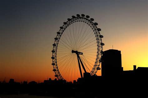 eye tattoo in london adorable sunset view of london eye
