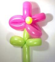sculture palloncini fiore come fare un fiore con i palloncini