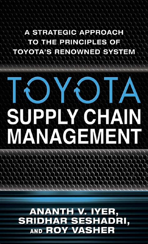 Toyota Chaign Il Toyota Supply Chain Management Slideshare Design Bild