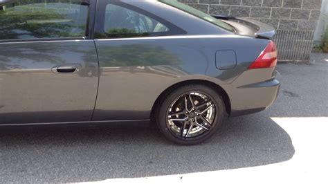 2004 honda accord tires 2004 honda accord on 18 quot rosso reactiv black milled wheels